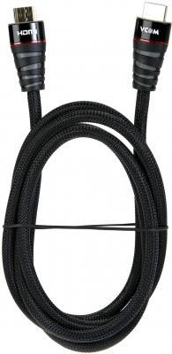 Фото - Кабель HDMI 1.8м VCOM Telecom CG526S-B-1.8M круглый черный кабель telecom hdmi hdmi cg511 3 м черный