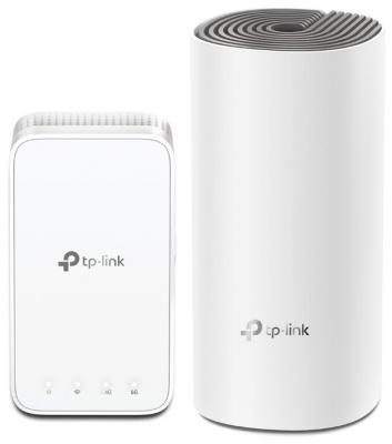 Wi-Fi система TP-LINK Deco AC1200 (2-Pack) 802.11abgnac 1167Mbps 2.4 ГГц 5 ГГц 2xLAN белый Deco AC1200(2-Pack) wi fi система tp link deco ac1200 2 pack белая