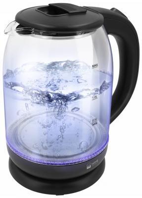 Чайник электрический HOME ELEMENT HE-KT187 1800 Вт черный жемчуг 2 л стекло чайник home element he kt190 1800вт 2 0л стекло