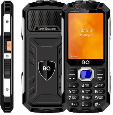 BQ 2819 Tank Quattro Black Мобильный телефон