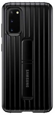 Фото - Чехол (клип-кейс) Samsung для Samsung Galaxy S20 Protective Standing Cover черный (EF-RG980CBEGRU) чехол клип кейс samsung s20 g980 clearview l blue ef zg980clegru