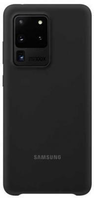 Фото - Чехол (клип-кейс) Samsung для Samsung Galaxy S20 Ultra Silicone Cover черный (EF-PG988TBEGRU) чехол клип кейс samsung galaxy note 20 ultra silicone cover белый ef pn985twegru