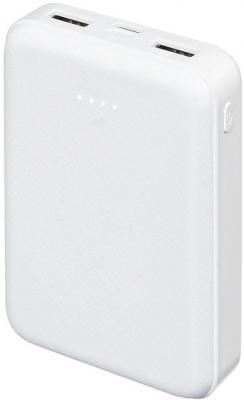 Мобильный аккумулятор Buro T4-10000 Li-Pol 10000mAh 2A+1A белый 2xUSB