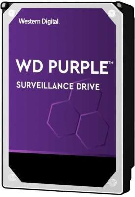 Жесткий диск 3.5 10 Tb 7200rpm 256Mb cache Western Digital Purple WD102PURZ SATA III 6 Gb/s жесткий диск western digital wd102purz