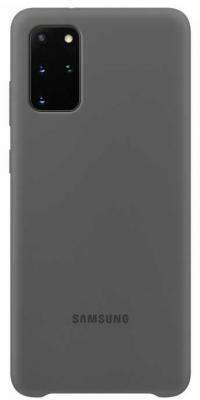 Фото - Чехол (клип-кейс) Samsung для Samsung Galaxy S20+ Silicone Cover серый (EF-PG985TJEGRU) чехол клип кейс samsung s20 g980 clearview l blue ef zg980clegru