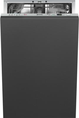 Встраиваемая посудомоечная машина SMEG/ Встраиваемая посудомоечная машина, 5 программ, расход 9.5 л, 45 см фото