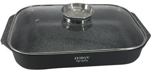 Жаровня со стеклянной крышкой Zeidan 3,5 л Z-50305 цена и фото