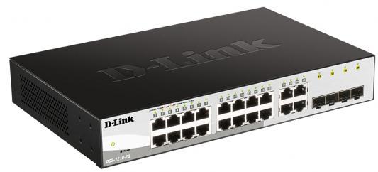 Коммутатор D-Link DGS-1210-20/FL DGS-1210-20/FL1A 20G управляемый