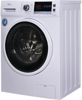 Комплект: стиральная машина Midea MWM6123 Crown Slim + пылесос Midea VCS43A15 фото