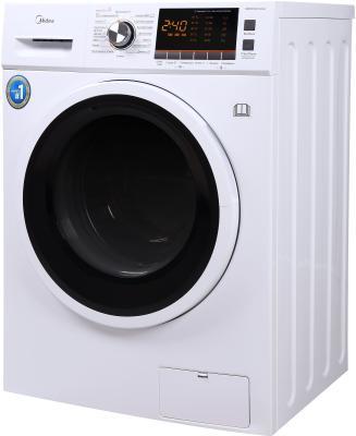 Комплект: стиральная машина с сушкой Midea MWC8143 Crown + пылесос Midea VCS43C4 фото