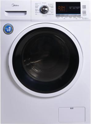 Комплект: стиральная машина Midea MWM6123 Crown Slim + пылесос Midea VCS43C4 фото