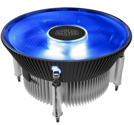 цена на Кулер CPU Cooler Master i70 (1150/1151/1155/1156, 95W, 28dB, 1800rpm, 120мм, 3pin) RTL