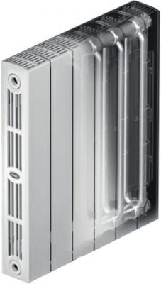 Радиатор биметаллический RIFAR SUPReMO 500-4 Ду 3/4 (RAL 5024) биметаллический радиатор rifar рифар b 500 нп 10 сек лев кол во секций 10 мощность вт 2040 подключение левое