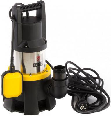 Дренажный насос DP1400X, 1400 Вт, подъем 11 м, 25000 л/ч// Denzel дренажный насос denzel dp450s 450 вт