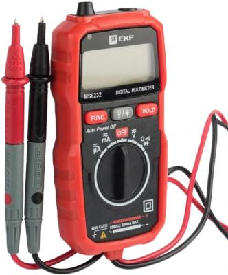 EKF In-180701-pm8232 Мультиметр цифровой MS8232 EKF Expert