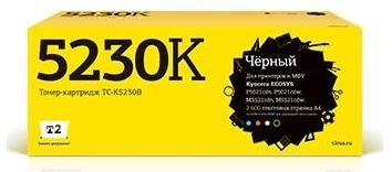 T2 TK-5230K Тонер-картридж для Kyocera ECOSYS M5521cdn/M5521cdw/P5021cdn/P5021cdw (2600 стр.) чёрный, с чипом