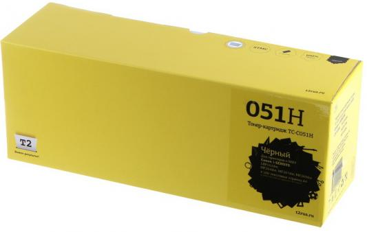 T2 Cartridge 051H Картридж TC-C051H для Canon i-SENSYS LBP162dw/MF264dw/MF267dw/MF269dw (4100стр.) черный, с чипом