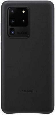 Фото - Чехол (клип-кейс) Samsung для Samsung Galaxy S20 Ultra Leather Cover черный (EF-VG988LBEGRU) чехол клип кейс samsung s20 g980 clearview l blue ef zg980clegru