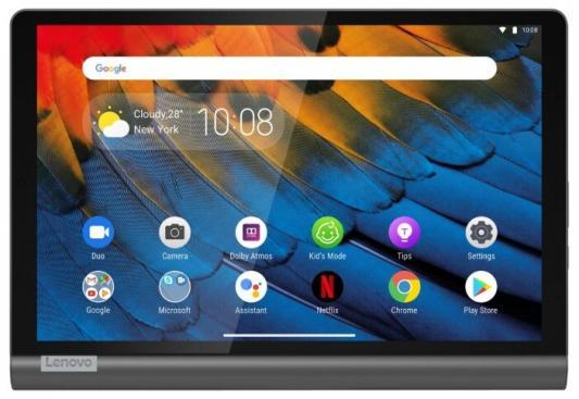 "Планшет Lenovo Yoga Smart Tab YT-X705F 10.1"" 32Gb Grey Wi-Fi Bluetooth Android ZA3V0063RU"