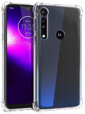 Чехол (клип-кейс) Motorola для Moto G8 Plus Brosco Transparent прозрачный (MOTO-G8P-HARD-TPU)