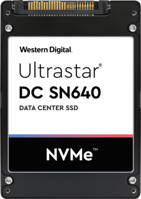 Твердотельный накопитель SSD 2.5 960 Gb Western Digital Ultrastar DC SN640 Read 3000Mb/s Write 1100Mb/s 3D NAND TLC (WUS4BB096D7P3E1 0TS1960 ) твердотельный накопитель ssd 2 5 3 75 tb western digital ultrastar dc sn640 read 3100mb s write 1800mb s 3d nand tlc 0ts1962 wus4bb038d7p3e1
