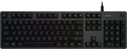 Клавиатура проводная Logitech Gaming Keyboard G512 USB черный
