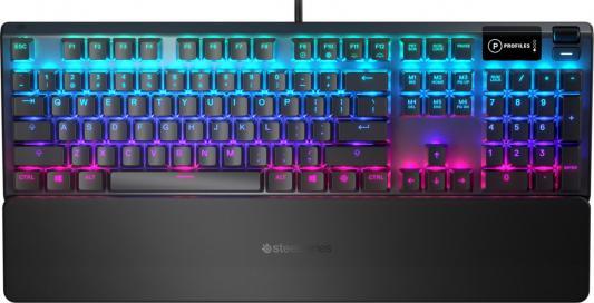 Клавиатура проводная Steelseries Apex 5 RU USB черный