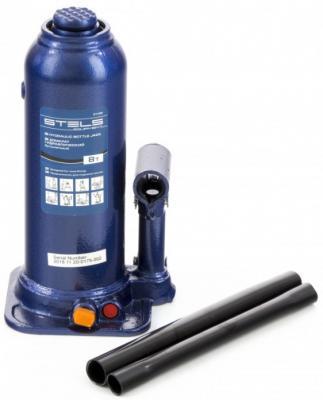 Домкрат гидравлический бутылочный, 8 т, h подъема 222-447 мм </div> <div class=