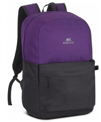 Фото - Рюкзак для ноутбука 15.6 Riva Mestalla 5560 фиолетовый/черный полиэстер (5560 SIGNAL VIOLET/BLACK) сумка для ноутбука 16 riva 8290 полиэстер черный