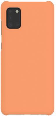 Фото - Чехол (клип-кейс) Samsung для Samsung Galaxy A31 WITS Premium Hard Case оранжевый (GP-FPA315WSAOR) чехол клип кейс samsung для samsung galaxy s10 marvel case ironman красный gp g975hifghwb
