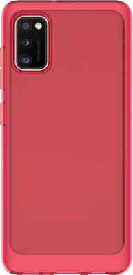Фото - Чехол (клип-кейс) Samsung для Samsung Galaxy A41 araree A cover красный (GP-FPA415KDARR) чехол клип кейс samsung для samsung galaxy s10 marvel case ironman красный gp g975hifghwb