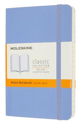 Фото - Блокнот Moleskine CLASSIC SOFT QP611B42 Pocket 90x140мм 192стр. линейка мягкая обложка голубая гортензия блокнот moleskine classic mm710p14 pocket 90x140мм 192стр линейка твердая обложка коричневый
