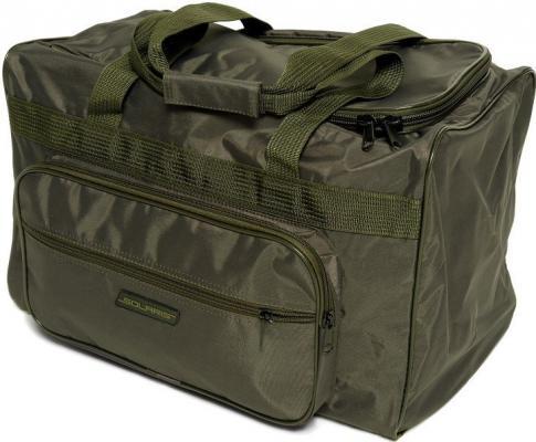 SOLARIS 5124 Сумка багажная с боковым карманом 54 л, Серый Хаки (хамелеон)