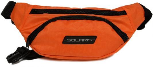 SOLARIS 5411 Сумка поясная, Оранжевая solaris 5410 сумка поясная красная