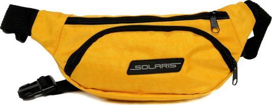 SOLARIS 5412 Сумка поясная, Жёлтая solaris 5410 сумка поясная красная
