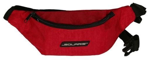 SOLARIS 5417 Сумка поясная, модель 2, Красная NEW solaris 5410 сумка поясная красная