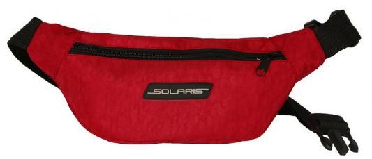 SOLARIS 5424 Сумка поясная, модель 3, Красная NEW solaris 5410 сумка поясная красная