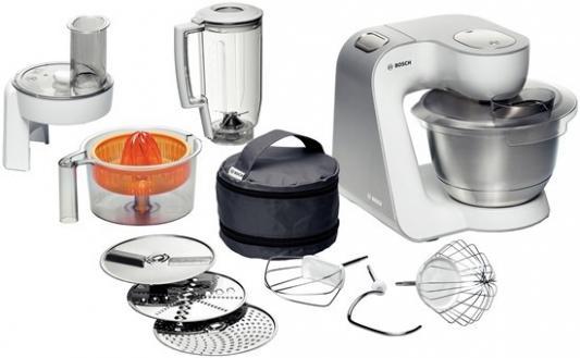 Фото - Кухонный комбайн Bosch MUM54230 900Вт белый кухонный комбайн bosch mum4426 белый