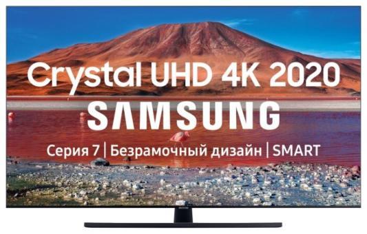Фото - Телевизор Samsung UE50TU7500UXRU черный телевизор samsung lcd 50 4k ue50tu7500uxru