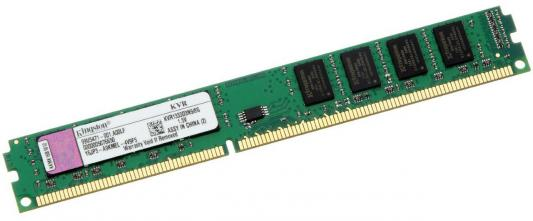 Оперативная память 8Gb (1x8Gb) PC3-10600 1333MHz DDR3 DIMM CL9 Kingston KVR1333D3N9/8G память оперативная ddr3 kingston 8gb 1333mhz kvr1333d3n9 8g