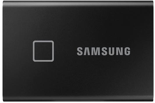 Фото - Накопитель SSD Samsung USB Type-C 1Tb MU-PC1T0K/WW T7 Touch 1.8 1tb внешний usb3 1 type c накопитель e ssd t1000 hikvision 1000mb s 3г гар