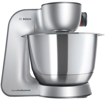 Фото - Кухонный комбайн Bosch MUM59343 белый/серебристый кухонный комбайн bosch mum4426 белый