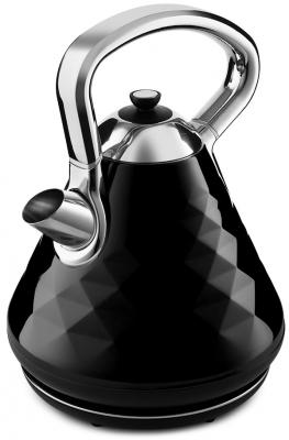 Фото - Чайник электрический KITFORT KT-698-1 2200 Вт чёрный 1.7 л нержавеющая сталь чайник электрический polaris pwk 1762ca city 2200 вт чёрный рисунок 1 7 л нержавеющая сталь
