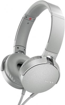 Фото - Sony MDR-XB550AP светло-серый, накладные, проводные наушники sony mdr xb550ap green