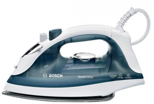 Утюг Bosch TDA-2365 утюг bosch tda 2365 2200 вт подача пара 22 г мин пар удар 80 г мин темно синий