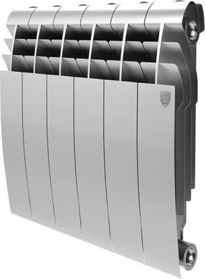 Радиатор Royal Thermo BiLiner 350 /Silver Satin - 4 секц. радиатор биметаллический royal thermo biliner silver satin 500 мм 4 секции 1 боковое подключение серый