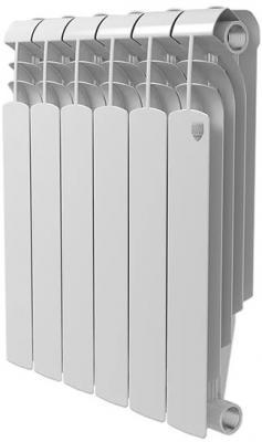 Радиатор Royal Thermo Vittoria Super 500 - 4 секц. биметаллический радиатор rifar рифар b 500 нп 10 сек лев кол во секций 10 мощность вт 2040 подключение левое