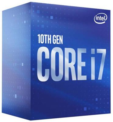CPU Intel Socket 1200 Core i7-10700 (2.9GHz/16Mb) Box 100% new cpu i7 6920hq sr2ft i7 6920hq bga chipset