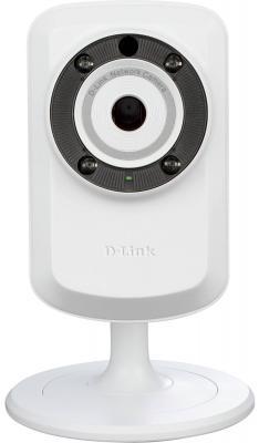 """Камера IP D-Link DCS-932L CMOS 1/5"""" 640 x 480 MJPEG Wi-Fi RJ-45 белый"""