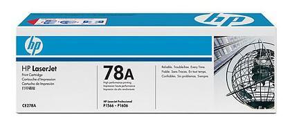 Тонер-картридж HP CE278A для LJ P1566/P1606w (2 100 стр) картридж target tr 78a 728 ce278a для hp lj p1566 p1606w m1536dnf mfp